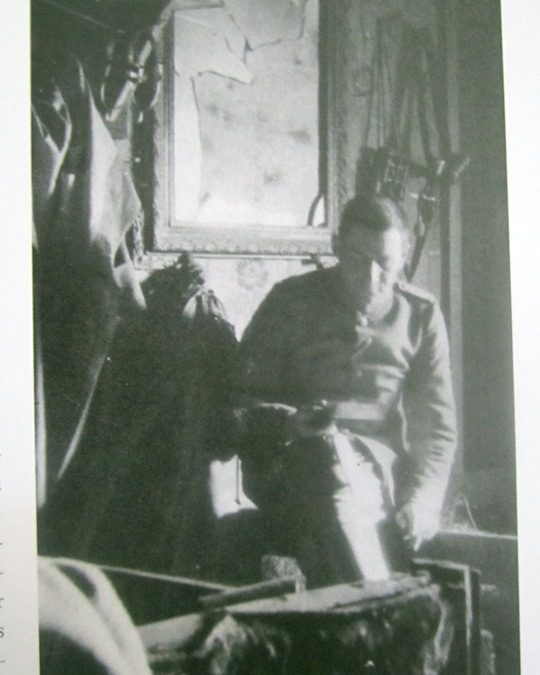 Franz Marc Holding a Cell Phone