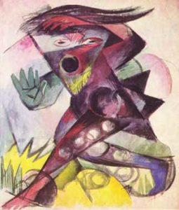 Franz Marc, Caliban, 1914